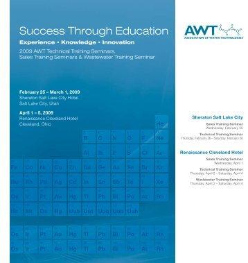 2009 AWT Technical - Association of Water Technologies