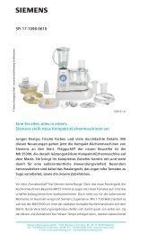 SPI 17-1098-0610 Eine für alles, alles in einem: Siemens stellt neue ...