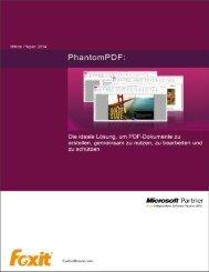 Foxit PhantomPDF White Paper