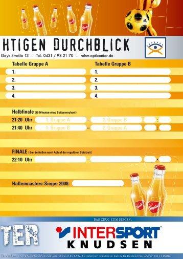 Heft Hallenmasters (Seite 51 - 100) - Schleswig-Holsteinischer ...