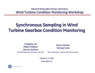 Synchronous Sampling in Wind Turbine Gearbox Condition Monitoring