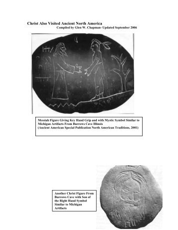 Christ Also Visited Ancient North America - Chapmanresearch