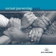 sociaal jaarverslag 2007 - Royal Haskoning