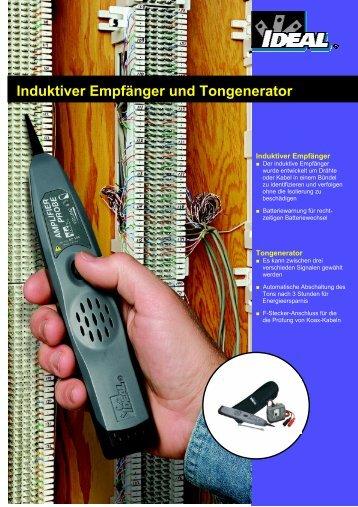 Induktiver Empfänger und Tongenerator - IDEAL INDUSTRIES