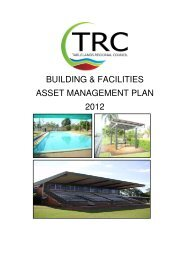 building & facilities asset management plan 2012 - Tablelands ...