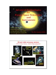 Advanced Technologies for Future Space Telescopes and Instruments