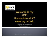 MyUCF. - UCF Resource Management