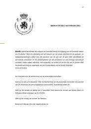 Advies betreffende het ontwerp van koninklijk besluit tot - Privacy ...