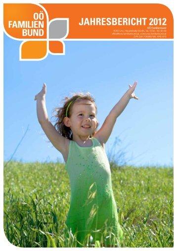Jahresbericht_2012.pdf - OÖ Familienbund