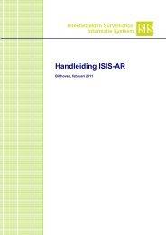 Handleiding ISIS-AR - ISISweb