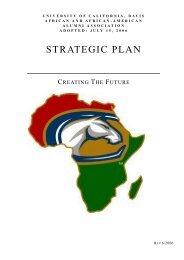 AAAAA Strategic Plan - Cal Aggie Alumni Association - UC Davis