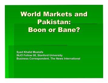 World Market Outlines