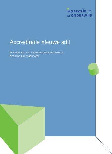 evaluatie Inspectie van het Onderwijs - NVAO
