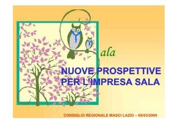 NUOVE PROSPETTIVE PER L'IMPRESA SALA - Masci