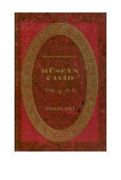 [Mətn]: Beş cilddə. V cild - Azərbaycan Milli Kitabxanası