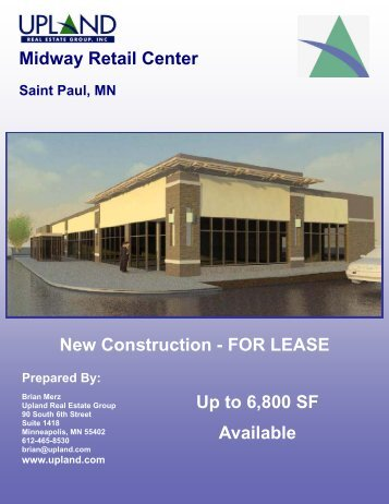 Midway Retail Center New Construction - Upland Real Estate Group