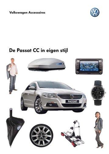 Prijslijst Volkswagen Passat CC accessoires per 01-03 ... - Fleetwise
