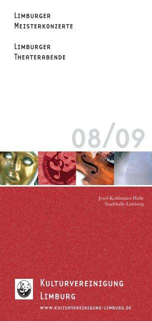 Programmheft 08-09.indd - Kulturvereinigung Limburg e.V.