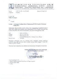 03 Undangan Pelatihan Dasar Pelaksanaan PNPM MP 2013 - P2KP