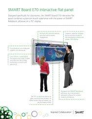 SMART Board E70 interactive flat panel - VocaLinks