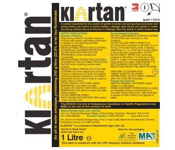 Klartan - Makhteshim-Agan
