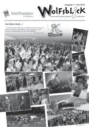 olFsbL cK - Gemeinde Wolfhalden