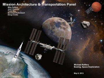 Mission Architecture & Transportation Panel