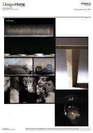 Design Home Magazine - Designer's Days