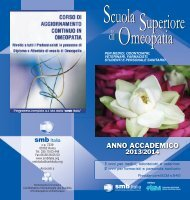 Brochure 2013-2014 - (SMB) Italia