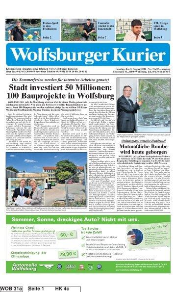 Stadt investiert 50 Millionen: 100 Bauprojekte in Wolfsburg
