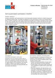 Product Reference Sheet (PDF) - mk Technology Group
