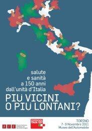 Il programma - Associazione Italiana Epidemiologia