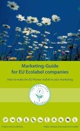 Marketing-Guide for EU Ecolabel companies - European Commission