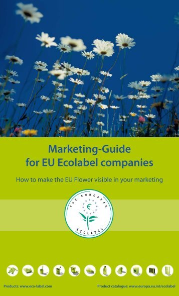 Marketing-Guide for EU Ecolabel companies - European Commission