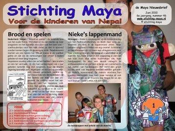 Juni - Stichting Maya