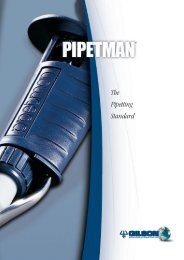 Pipetman: The Pipetting Standard - LAB MARK