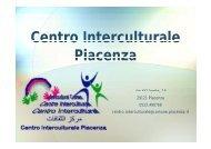 Centro Interculturale Piacenza - Provincia solidale