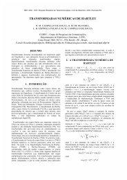 TRANSFORMADAS NUMÉRICAS DE HARTLEY