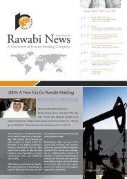2009: A New Era for Rawabi Holding