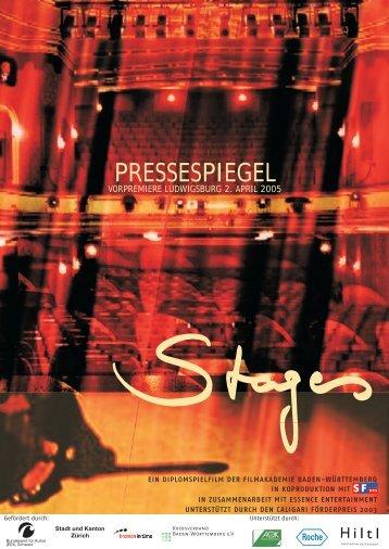Pressespiegel 'Berichterstattung Vorpremiere in Ludwigsburg' - stages