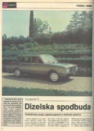 Prenesi PDF testa Fiat Fiat Argenta TD - Avto Magazin