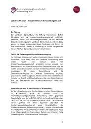 Daten und Fakten – Gesamtklinikum Schaumburger Land