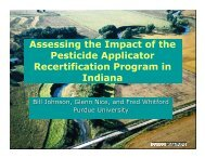 Assessing the Impact of the Pesticide Applicator Recertification ...