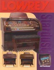 SU530 - Lowrey Organ Forum