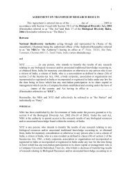 1 AGREEMENT ON TRANSFER OF RESEARCH RESULTS This ...