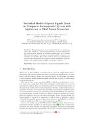 Statistical Model of Speech Signals Based on Composite ...