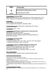 Findbuch