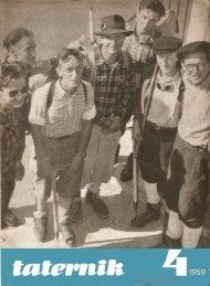 Taternik 4 1959 - Polski Związek Alpinizmu