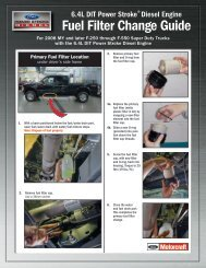 6.4L Fuel Filter Change Guide - Power Stroke Diesel