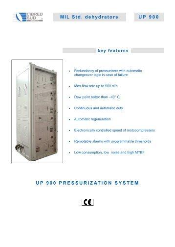 Pressurizzatori a norma MIL UP 900 SISTEMA DI ... - Cibred Sud